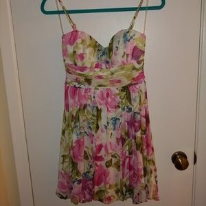 Speechless Spaghetti Strap Dress Size S
